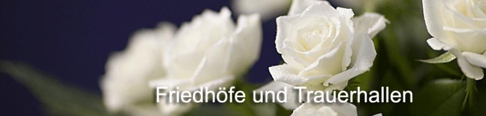 Friedhof Schmellwitz , Bestattungsunternehmen Wolfram führt hier Bestattungen durch