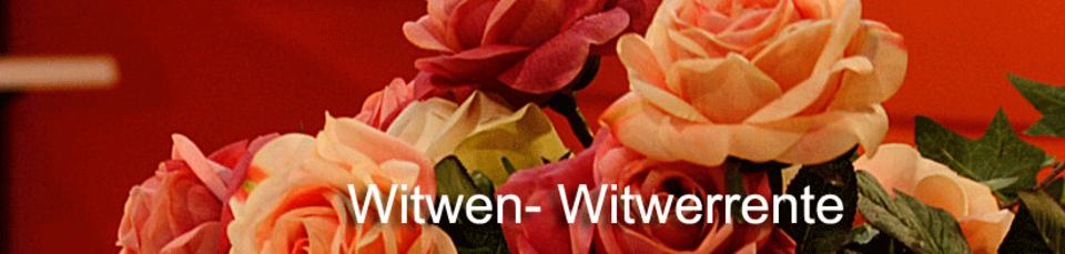 Pietät Bestattungshaus in Cottbus, Wittwenrente beantragen